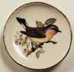 Dollhouse Miniature Bird Plate