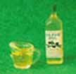 Dollhouse Miniature Olive Oil  Filled Measuring Cup