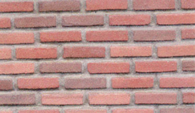 Dollhouse Miniature Red Blend Brick, 325Pcs