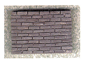 Dollhouse Miniature Charcoal Brick, 325 Pcs