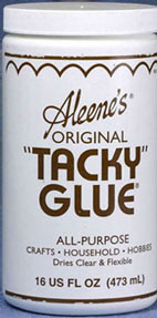 Dollhouse Miniature Tacky Glue, 16 Oz Jar