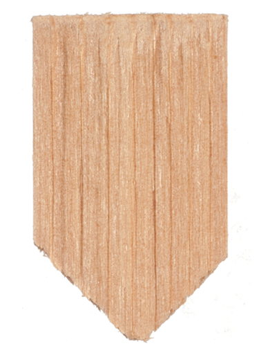 Dollhouse Miniature Economy Cedar Shingles, Diamond, 1000/Pk