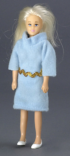 Dollhouse Miniature Mother, Blonde