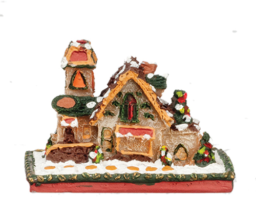 Dollhouse Miniature1 In Gingerbread House