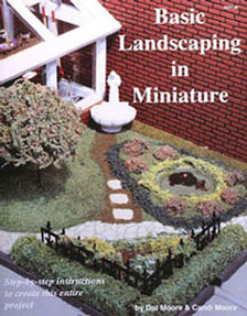 Dollhouse Miniature Basic Landscaping In Miniature