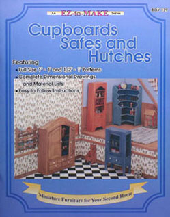 Dollhouse Miniature Cupboards, Safes And Hutches