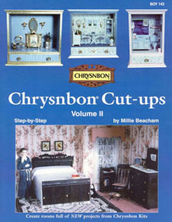 Dollhouse Miniature Chrysnbon Cut-Ups Volume Two