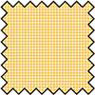 Dollhouse Miniature Silk Fabric: Checkers - Gold