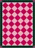 Dollhouse Miniature Floor cloth: Red Americana