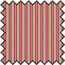 Dollhouse Miniature Silk Fabric: Stripe - Garnet