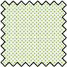 Dollhouse Miniature Silk Fabric: Creme De Menthe