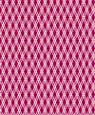 "Dollhouse Miniature 1/4"" Scale Wallpaper: Lattice Reverse, Garnet"