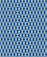 "Dollhouse Miniature 1/4"" Scale Wallpaper: Lattice Reverse, Midnight"