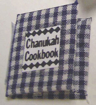 Dollhouse Miniature Chanukah Cookbook