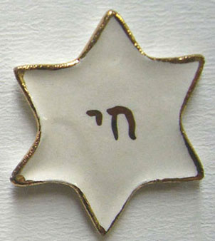 Dollhouse Miniature Star Plate-Chi