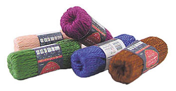 Dollhouse Miniature Skeins Of Yarn Assorted with 5 Skeins