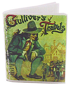 Dollhouse Miniature Gulliver's Travels Antique Repro Book