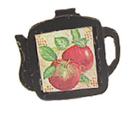 Dollhouse Miniature Trivet, Teapot Assorted