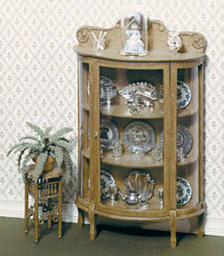 Dollhouse Miniature F-170 China Cabinet Kit