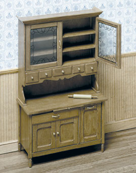 Dollhouse Miniature F-280 Kitchen Cabinet Kit