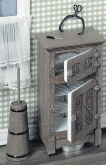 Dollhouse Miniature F-300 Ice Box Kit
