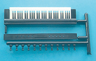 Dollhouse Miniature 61 Key Organ Keyboard with Pulls