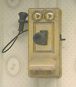 Dollhouse Miniature Telephone