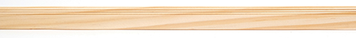 Dollhouse Miniature Baseboard Molding, Style