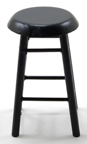 Bar Stool,2 In,Black