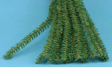 Dollhouse Miniature Canadian Pine Stem 12In X 12Mm, 15Pc
