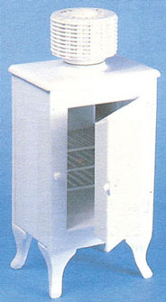Dollhouse Miniature Monitor Top Refrigerator