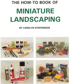 Dollhouse Miniature How-To Miniature Landscaping