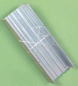 Dollhouse Miniature Aluminum Miter Box
