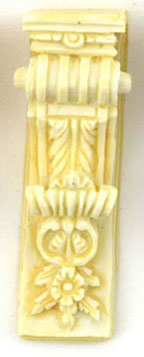 Dollhouse Miniature Bracket 2Pcs/Ivory