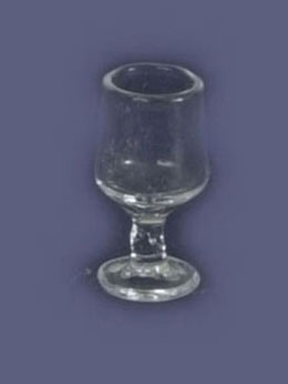 Dollhouse Miniature Wine Glass