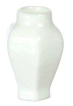 Dollhouse Miniature Vase, Hexagonal, 2Pc
