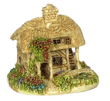 Dollhouse Miniature Cottage-Rose