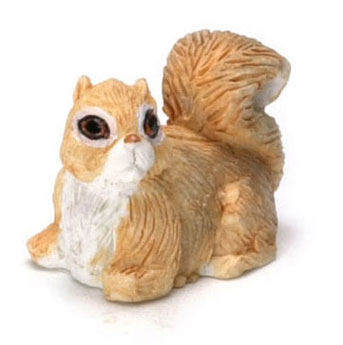 Dollhouse Miniature Squirrel