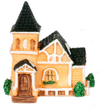Dollhouse Miniature Manor