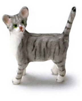 Dollhouse Miniature Kitten