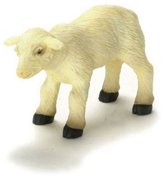 Dollhouse Miniature Sheep/Young