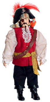 Dollhouse Miniature Pirate