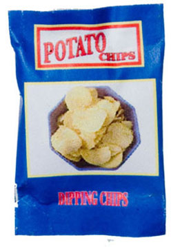 Dollhouse Miniature Town Square Potato Chips