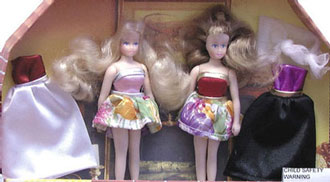 Dollhouse Miniature Fashion Friends