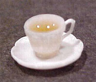 Dollhouse Miniature Cup Of Tea