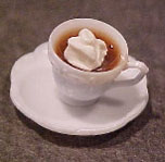 Dollhouse Miniature Cup Of Cocoa