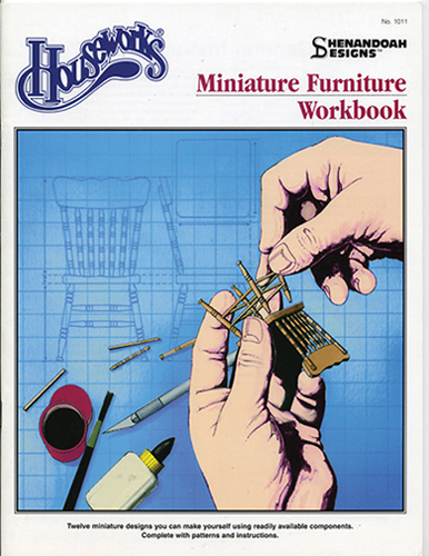 Dollhouse Miniature Design Book 1, Shenandoah Furniture