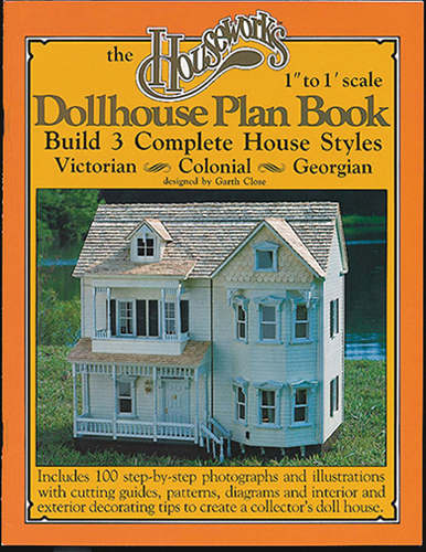 Dollhouse Miniature Plan Book: 3-In-1 Dollhouse Plans
