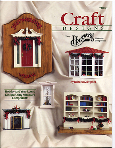 Dollhouse Miniature Book: Craft Designs