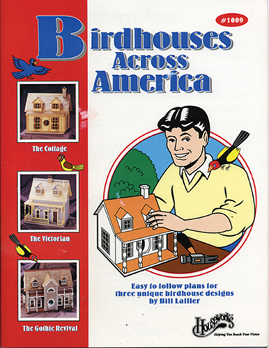 Dollhouse Miniature Book: Birdhouses Across America